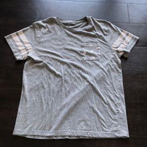 Mens Sailboat Pocket T-Shirt.